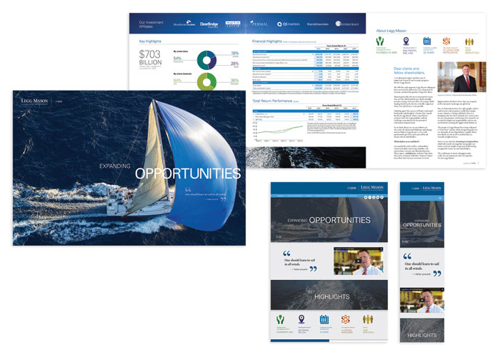 2015 Annual Report by Legg Mason Creative Services