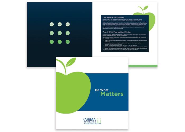 Foundation Brochure by Lisa Cain Design