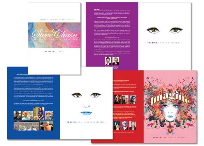 Steve Chase Humanitarian Awards Sponsor Kit by Mark Duebner Design