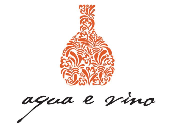 Trademark for Aqua e Vino Restaurant by Metropolis Branding
