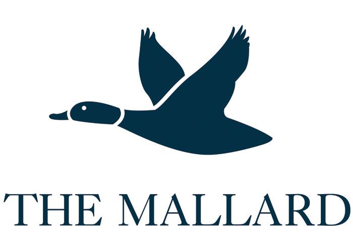 The Mallard Logo Design by Miskowski Design LLC