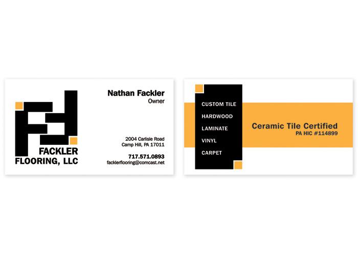 Fackler Flooring Branding by mkulpdesigns