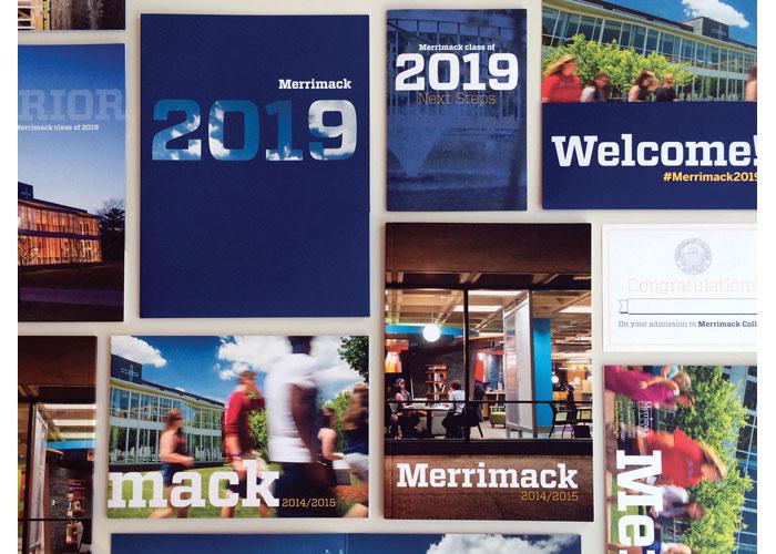 Merrimack Admissions Materials 2014-2015 by Pangaro Beer Design