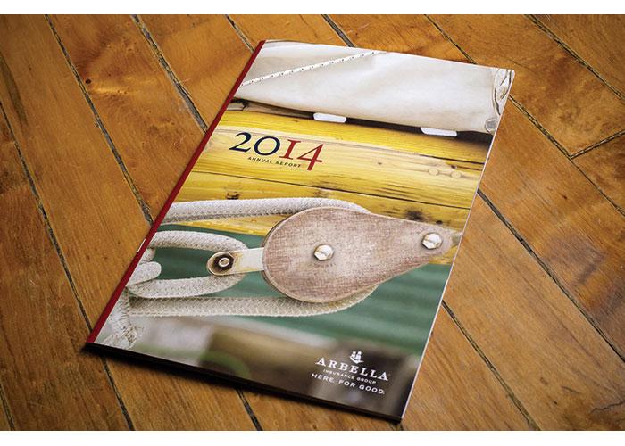 Arbella Annual Report 2014 by Roycroft Design