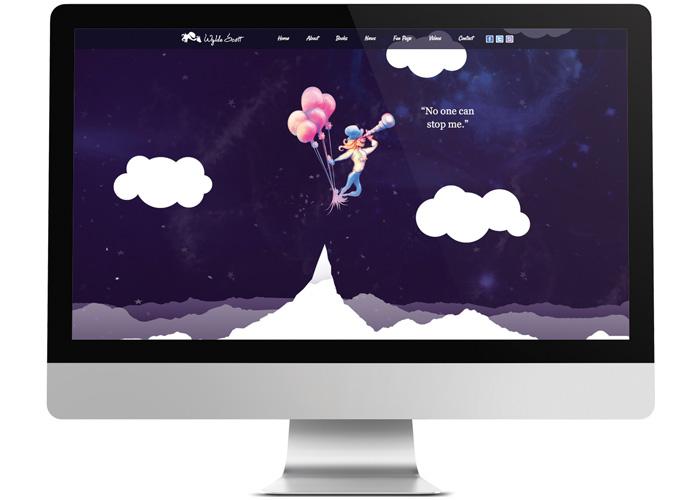 Wylde Scott Responsive Website by Wilmington Design Co.