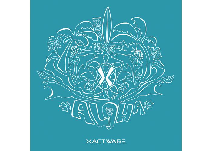 Aloha Summer Party Logo by Xactware