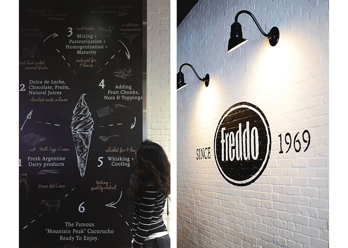 Freddo Wall Mural & Logo Graphic by Streetsense