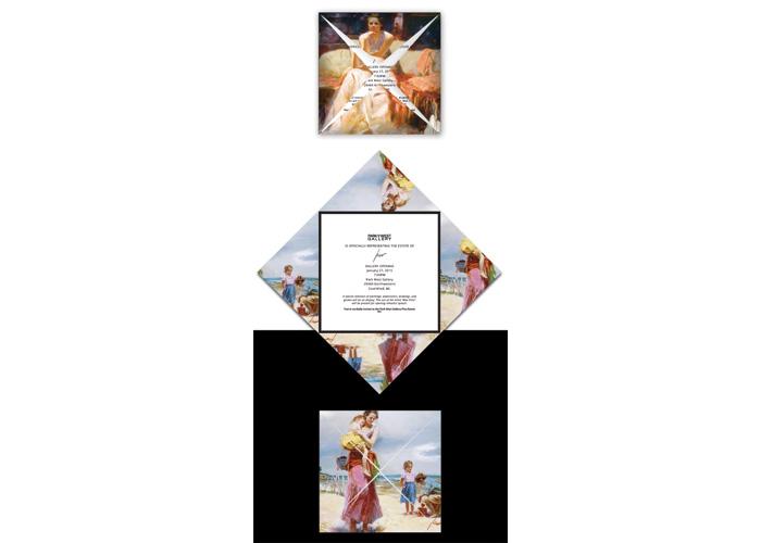 Inaugural Gallery Invitation & Catalog by W&Company