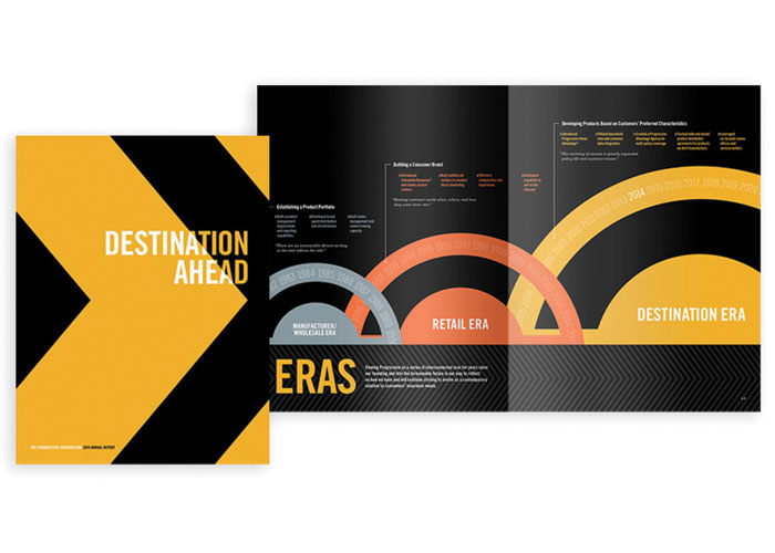 Progressive Corporation 2014 Annual Report by Nesnadny + Schwartz