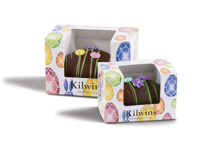 Kilwins Easter Cream-Eggs Packaging by Carol Sullivan Design