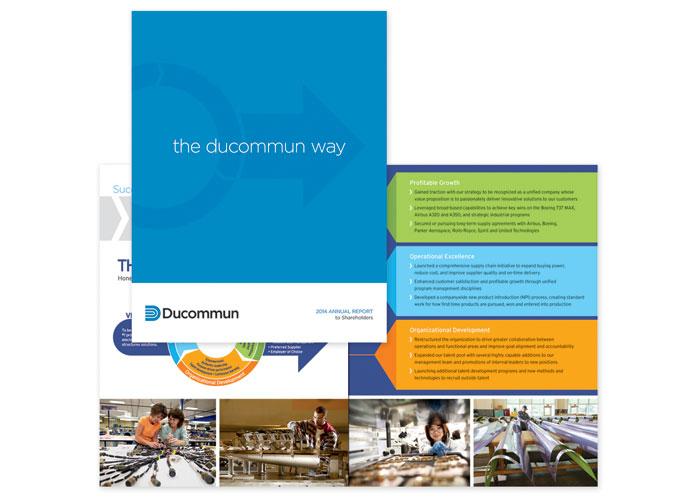 Ducommun 2014 Annual Report by Stan Gellman Graphic Design