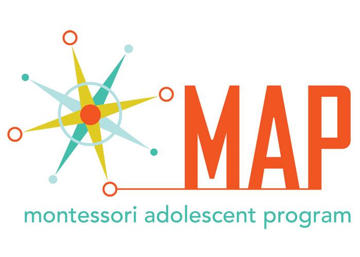 Montessori Adolescent Program Identity by Stan Gellman Graphic Design