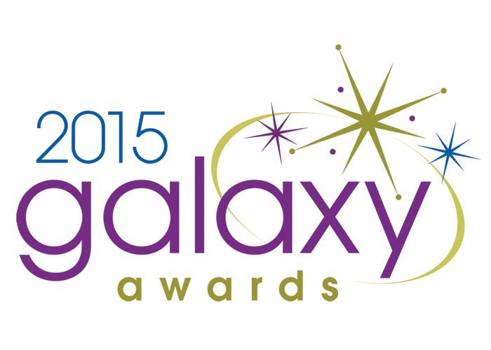 2015 Galaxy Awards Logo by Stan Gellman Graphic Design