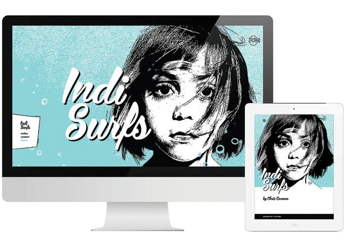 Indi Surfs Website by Level Design Group