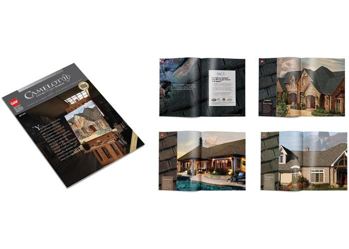 Camelot II Lifetime Designer Shingles Brochure by GAF