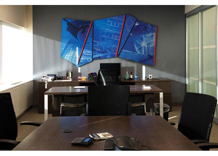 GAF Executive Office Display by GAF