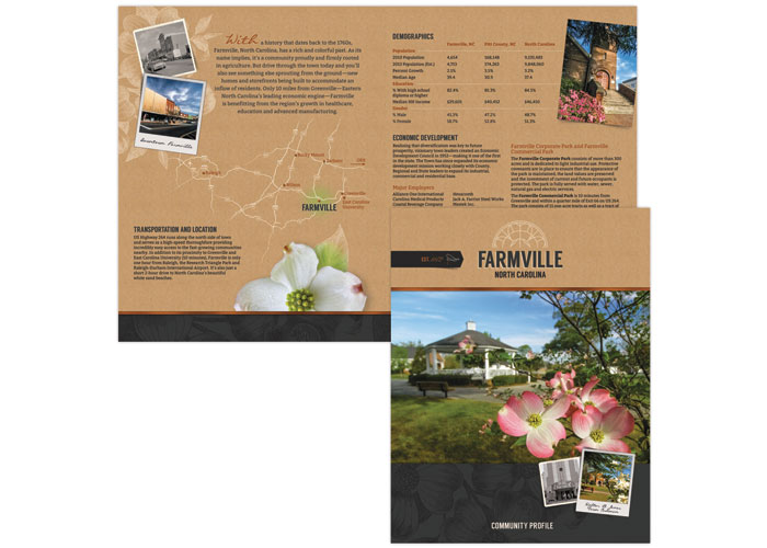 Farmville Overview Brochure by Liaison Design Group
