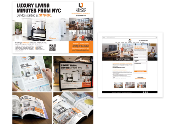 The Lenox Condominium Advertising by Pix-L Graphx