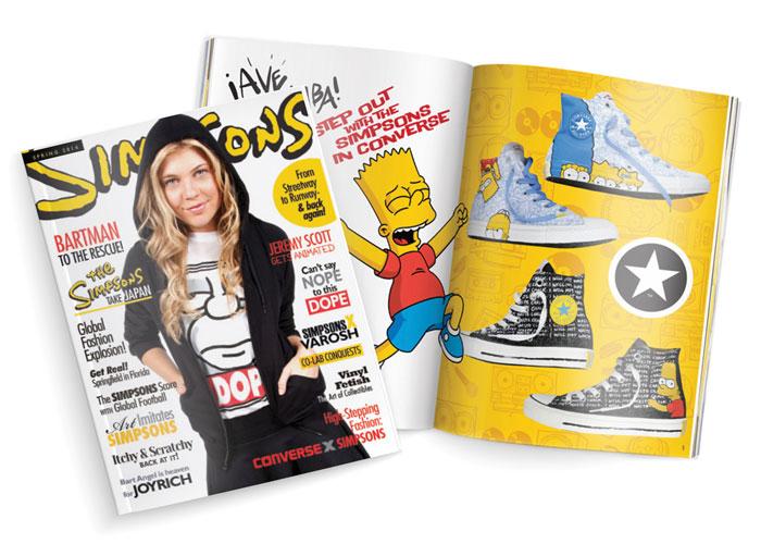 Simpsons 2014 Spring Lookbook
