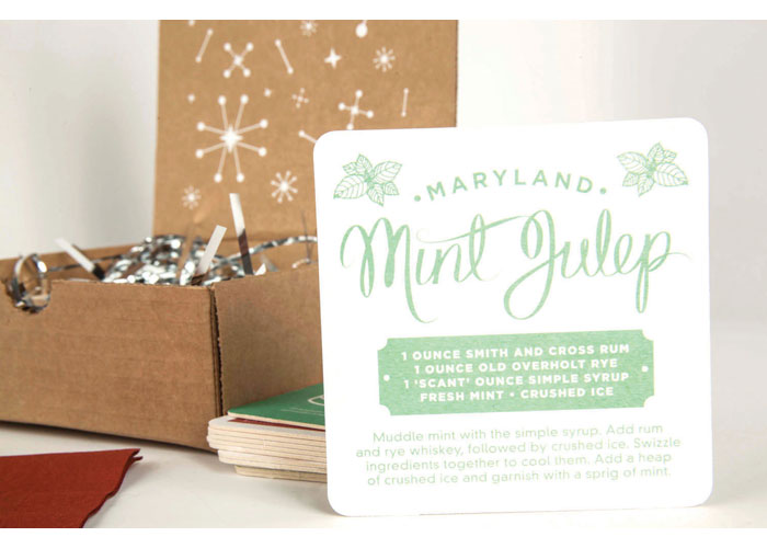 Clever Creative Holiday Promotional Mailer