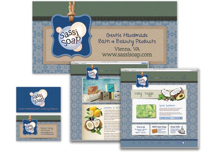 Sassi Soap Branding by CSE Identity Design, Inc.