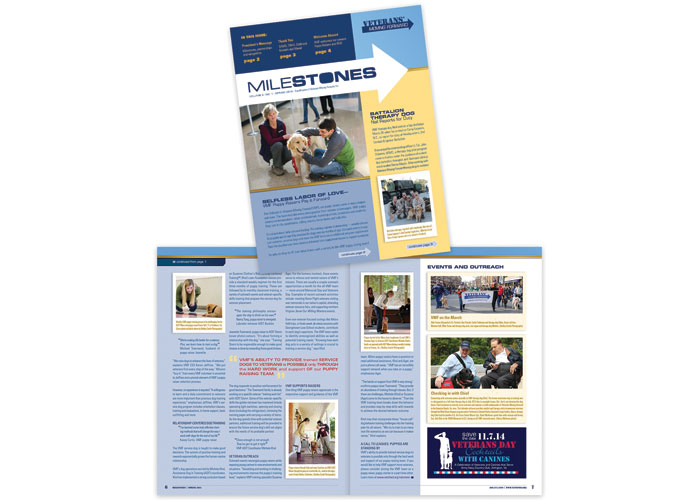 Milestones Newsletter by CSE Identity Design