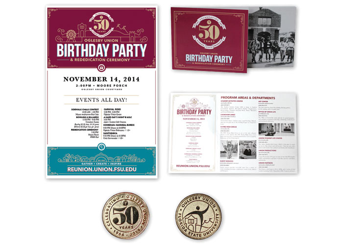 Oglesby Union 50th Anniversary by Florida State University - DSA Marketing & Communications