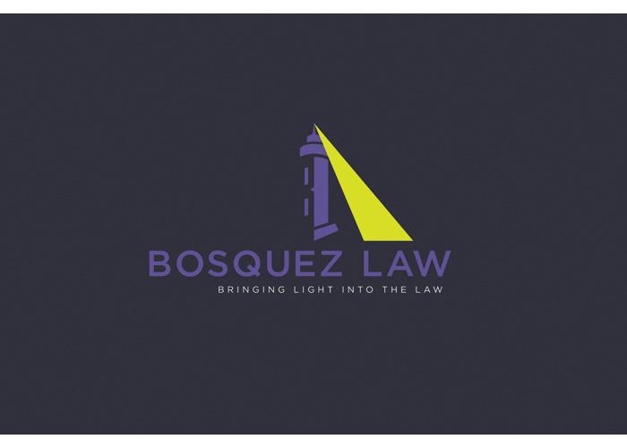 Bosquez Law Brandmark by Nicte Creative Design, LLC