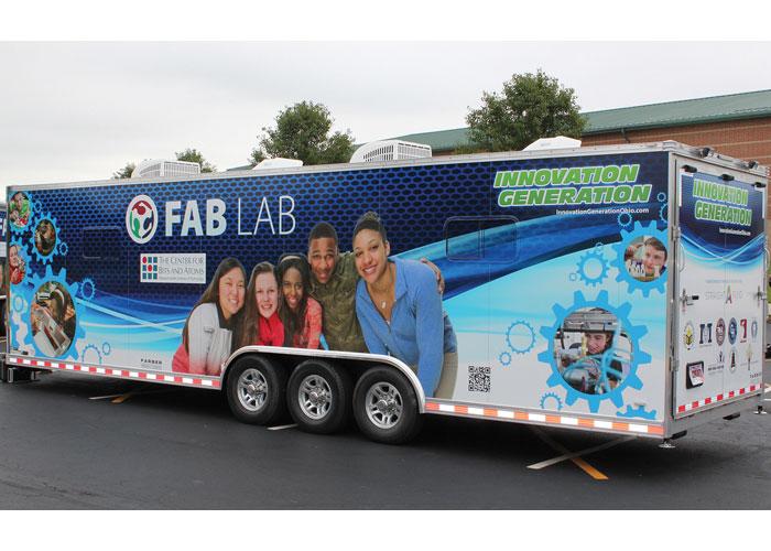 Fab Lab Mobile Trailer by Paul Werth Associates