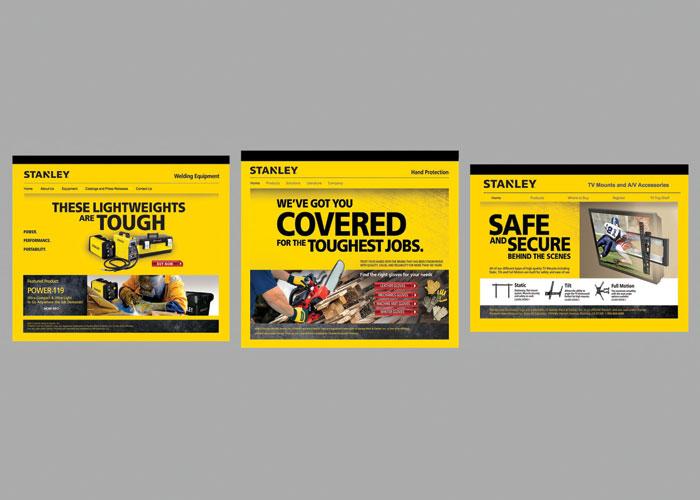 Series of 3 Stanley Licensee Websites by RandyRichardsDesign