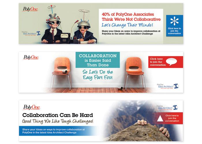 Idea Architect Web Ads by Jacqueline Photography & Design