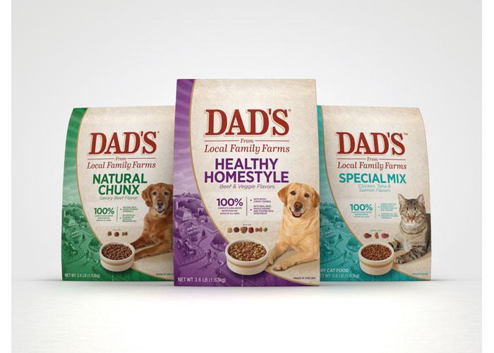 DAD's Pet Food Packaging by Design SGS