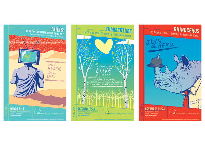 Mainstage Play Posters