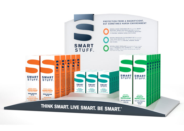 Smart Stuff Display by Dot Matrix Design Group
