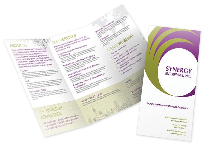 Synergy Marketing Brochure by Synergy Enterprises, Inc.