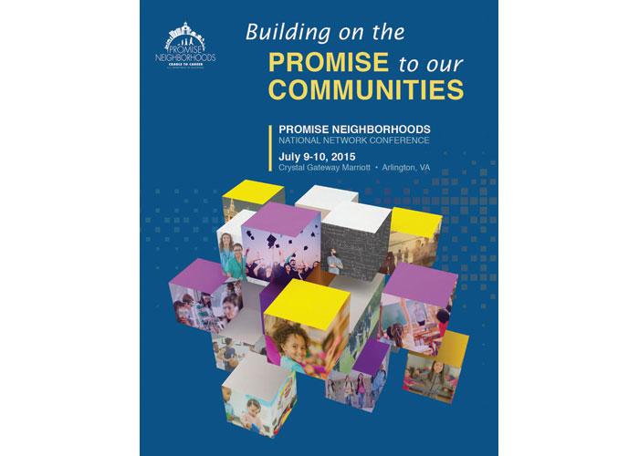 Promise Neighborhoods Poster & Cover Design by Synergy Enterprises, Inc.