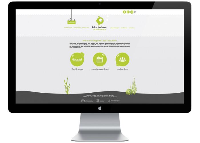 Lake Jackson Orthodontics Website by Test Monki