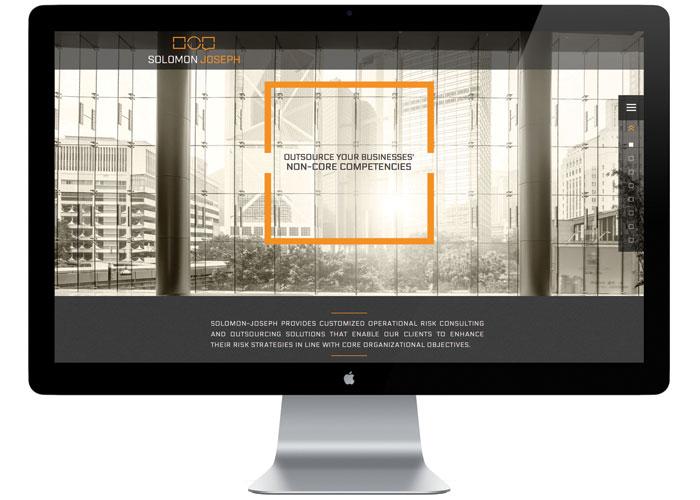 Solomon Joseph Website by Test Monki