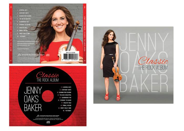 Jenny Oaks Baker: Classic - The Rock Album by Kiwi Creative