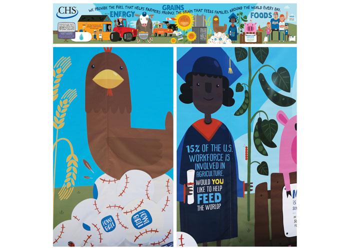 CHS Field Kidzone Mural by Franke+Fiorella