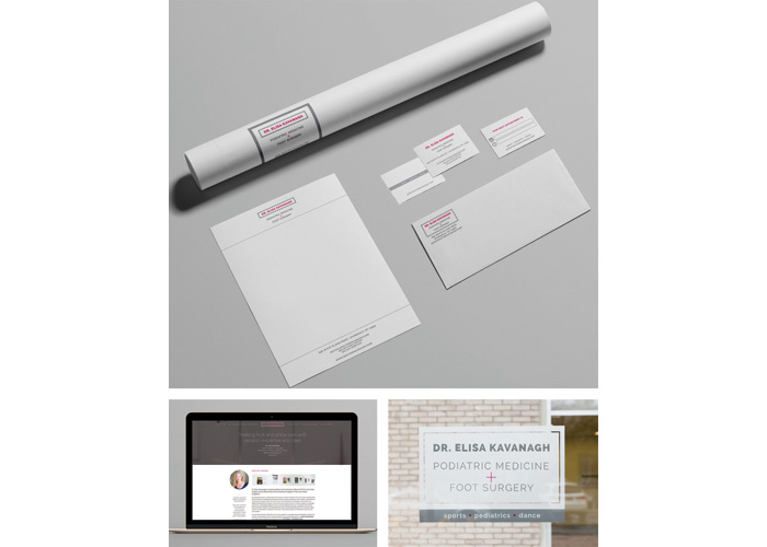 Dr. Elisa Kavanagh Branding by Gary Wong Designs