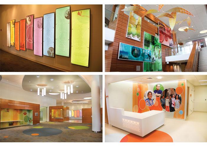 Golisano Children's Hospital Environmental Graphics by ArtHouse Design