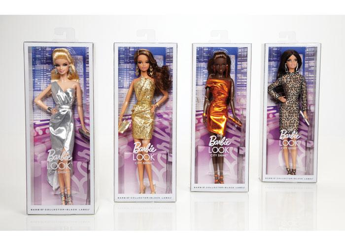 The Barbie Look® City ShineTM Barbie® Dolls by Mattel, Inc./Barbie Packaging