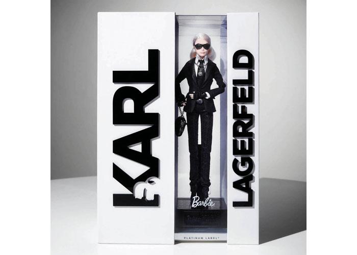 Karl Lagerfeld Barbie® Doll by Mattel, Inc./Barbie Packaging