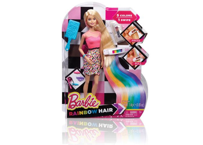Barbie® Rainbow Hair by Mattel, Inc./Barbie Packaging