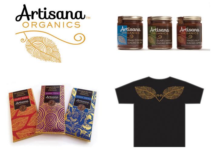 Artisana Organics Branding by Gauger + Associates