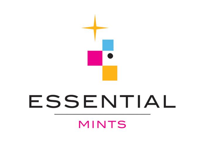 Essential Mints Logo by Gauger + Associates