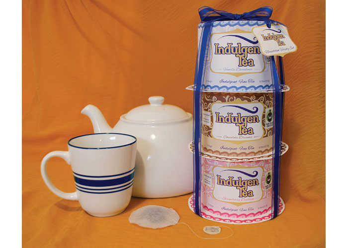Indulgen Tea Packaging by Art Institute of Tampa