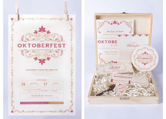 Oktoberfest Branding by School of Advertising Art