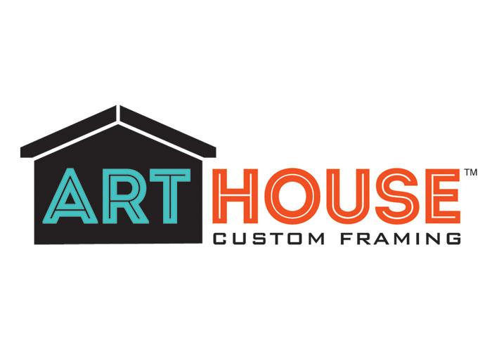 Art House Custom Framing Logo by The JVP Group